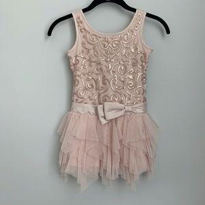Biscotti Collezioni Blush Tutu Flower Girl Dress